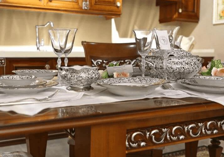 сервиз для классической кухни