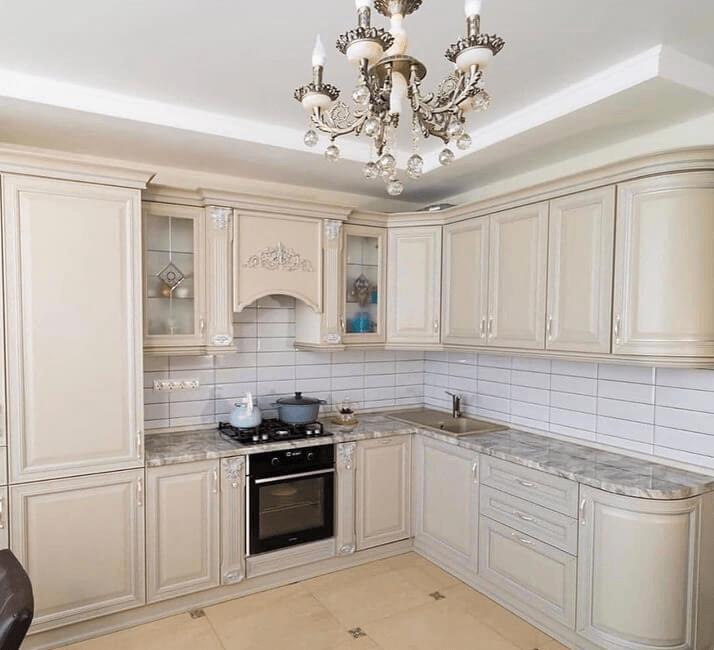 белые кухни дизайн проект кухни
