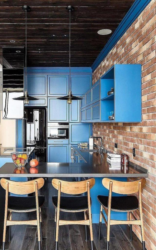 кухни в стиле лофт проект для квартиры