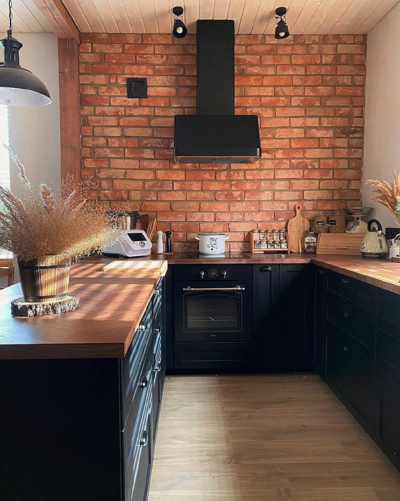 кухни в стиле лофт дизайн проект