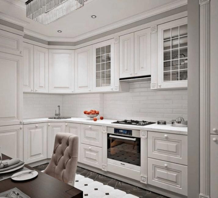 кухни в стиле неоклассика какой дизайн