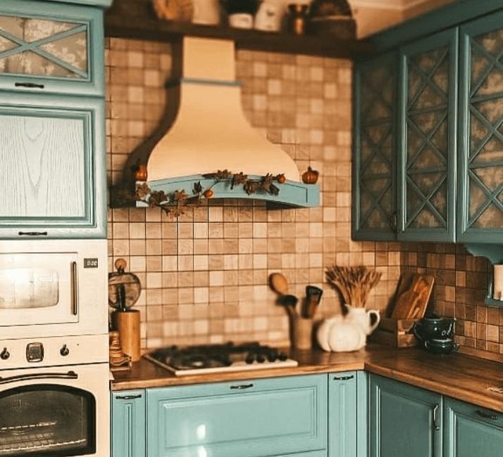 фартук кухни в стиле прованс