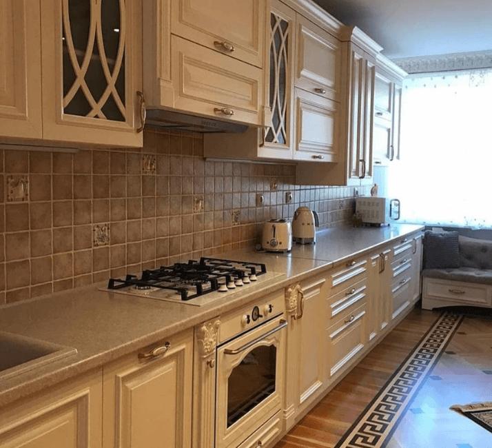 дизайн проект кухни с рамкой