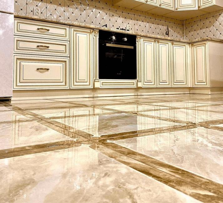 плитка для кухни в стиле неоклассика