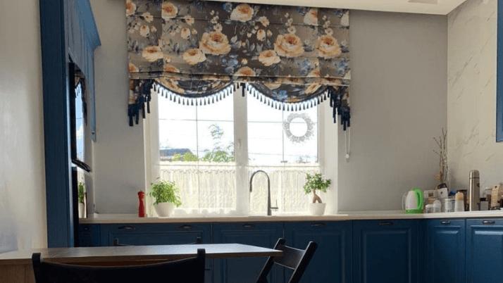 короткие шторы прованс