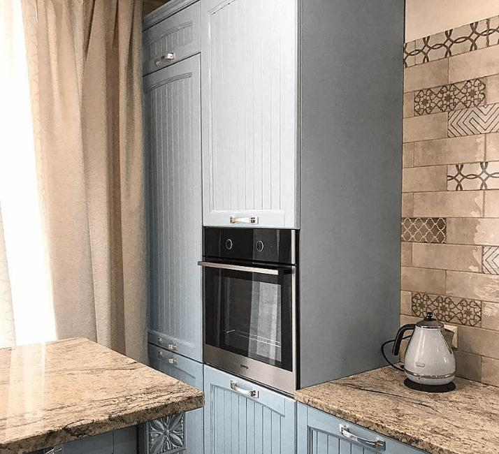 фартук плитка кухни в стиле прованс