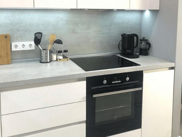 духовка с варочной плитой проект