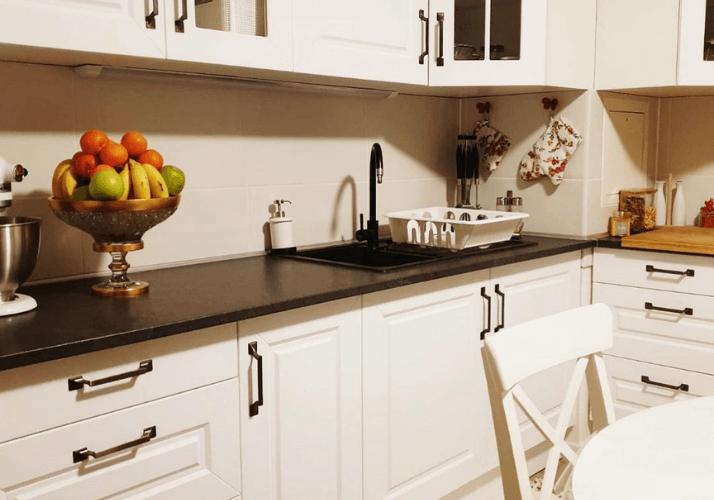 какую столешницу выбрать для кухни сканди