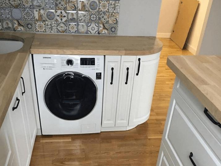 стиральная машина проект кухни