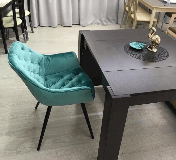 квадратный стол для кухни из мдф