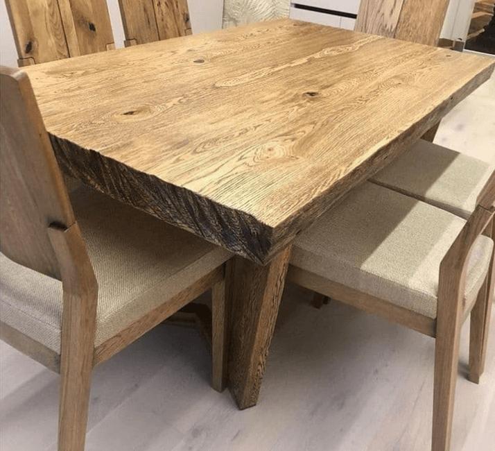 какой стол выбрать для кухни из дерева