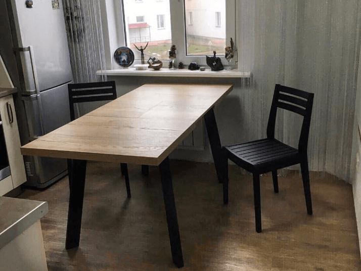 какой стол выбрать для маленькой кухни