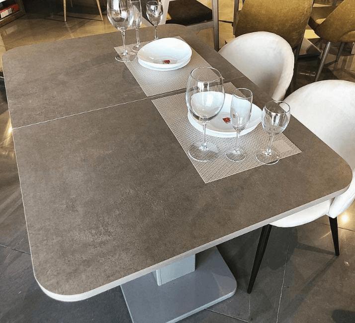 керамический стол под камень