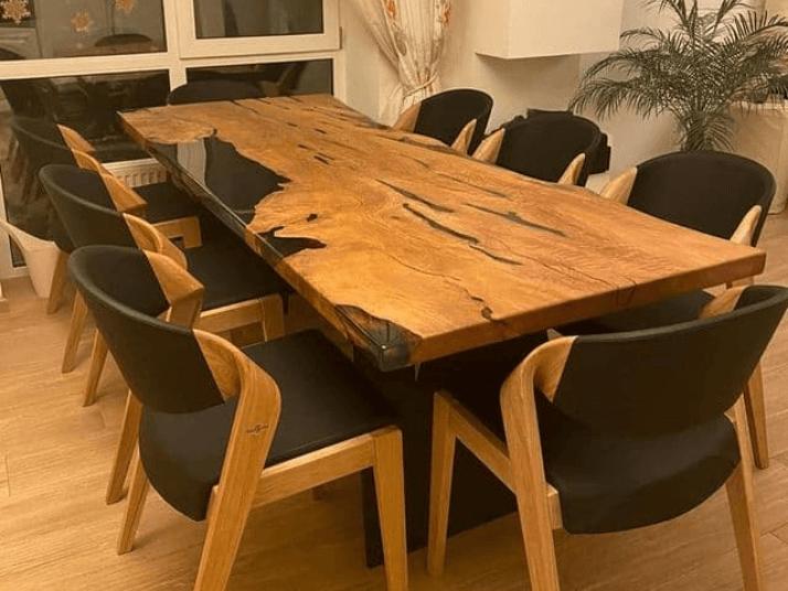 как выбрать стол на кухню из дерева