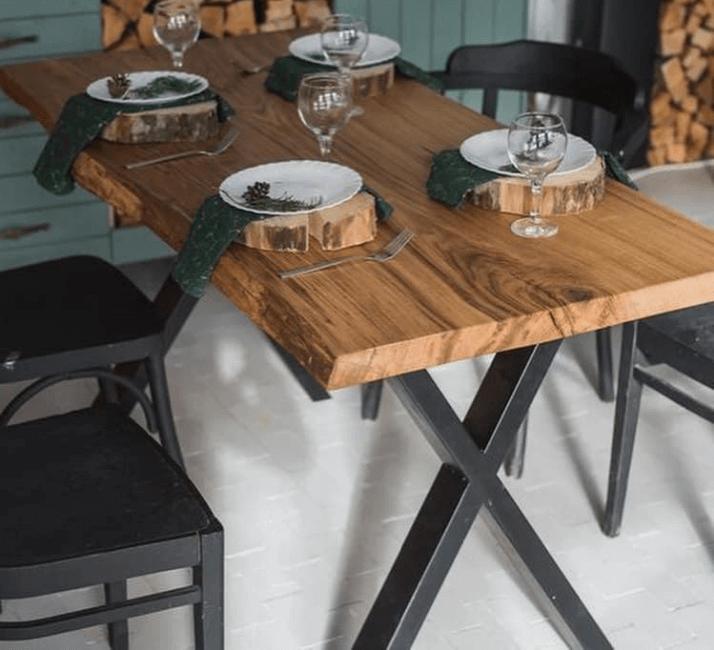 какой стол выбрать для кухни лофт