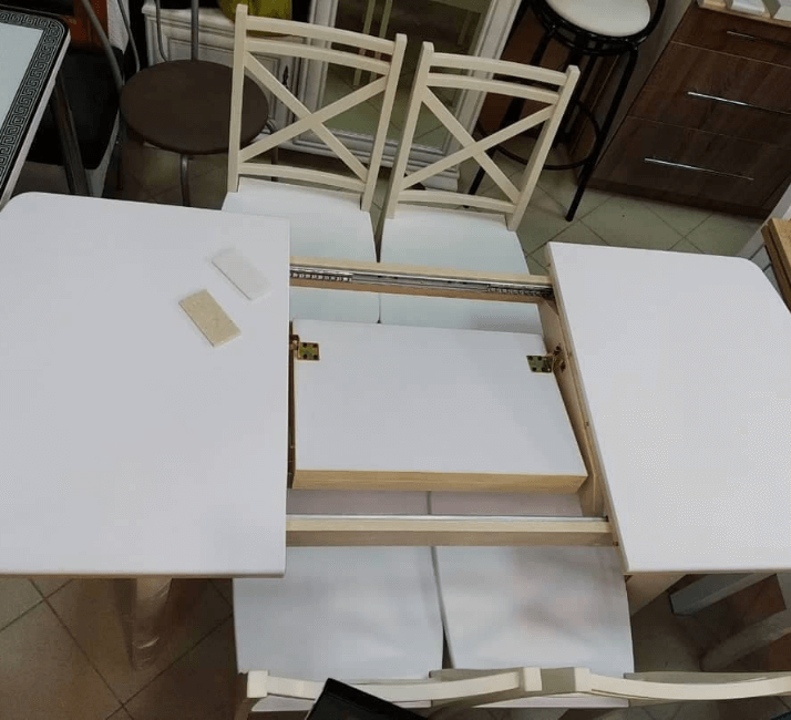 стол раскладной бабочка