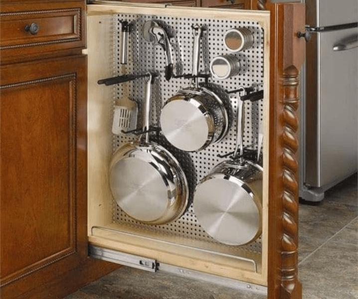 хранение сковород