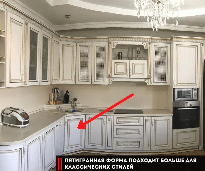 Дизайн угловой кухни в современном стиле отличия от классики