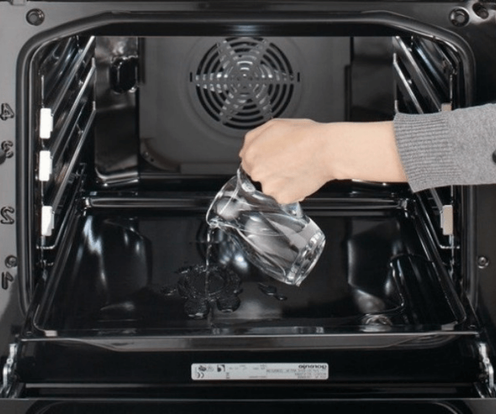 паровая очистка духовки