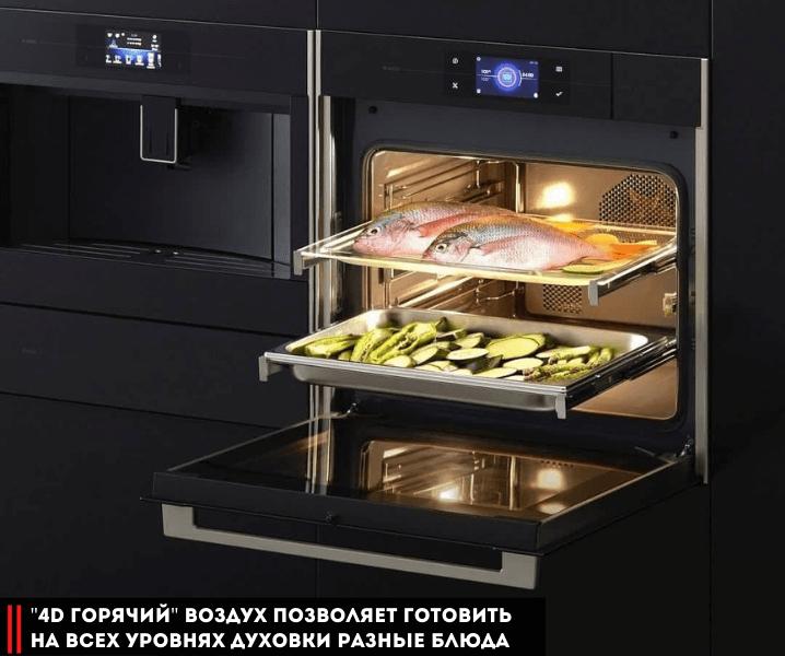 4D горячий воздух в духовке