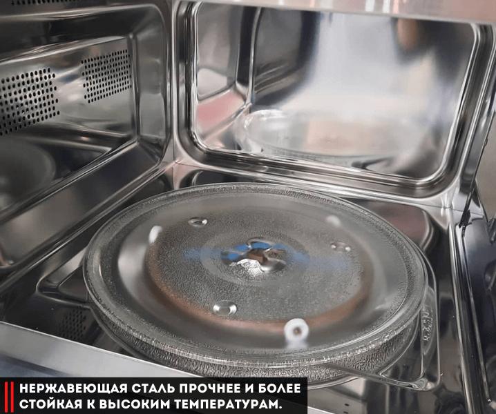 Как выбрать микроволновку по параметрам нержавейка